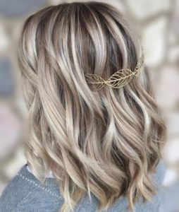 Chunky Ice Blonde Highlights