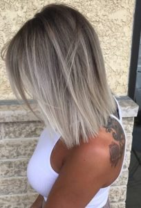 Ash to Ice Blonde Ombre