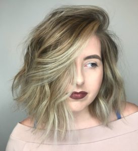 Ashy Blond Bob with Layers