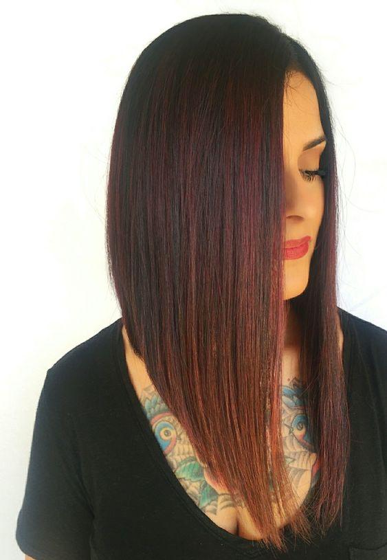 Stunning Long Bob Haircut With Layers