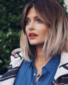 Blunt Layered Bob with OMbre