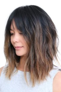 Tousled Layers and Centre Parted Bob
