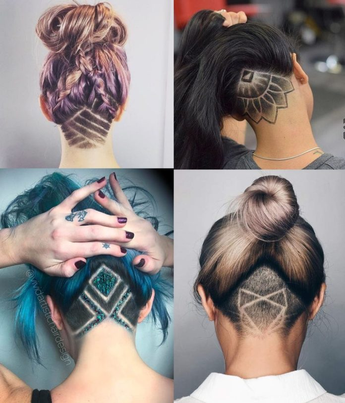 30 Lovely Nape Tattoos For Girls: 30 Of The Best Nape Undercut Hairstyles