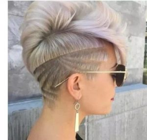 Super Cool Pixie with Edgy Tramlines