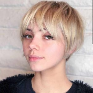 Short Pageboy for Fine Hair
