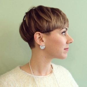 Short Pageboy with Undercut