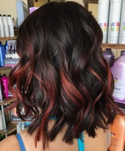Partial Magenta Highlights