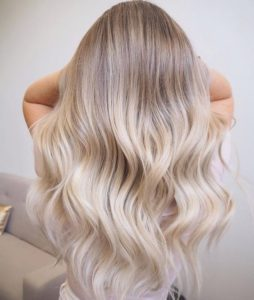 Sun Kissed Icy Blonde