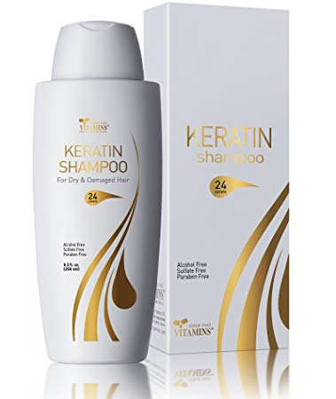 Vitamins Keratin Shampoo Protein Hair Treatment