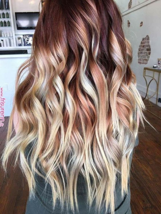 40 Awesome Balayage Red Hair Ideas