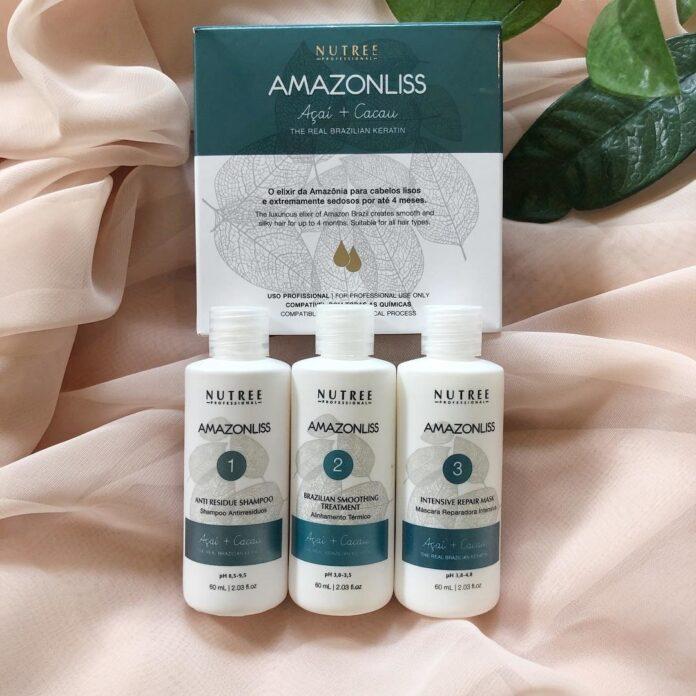 Amazonliss Keratin Smoothing Treatment Hair Straightening