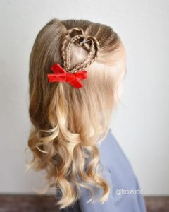 Adorable Heart Braid