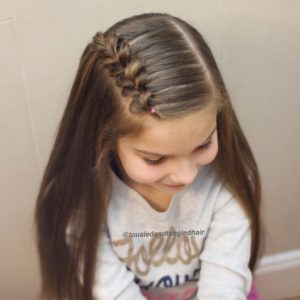 Cute Mini Pull Through Braid