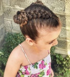 Dutch Braids and Braided Bun