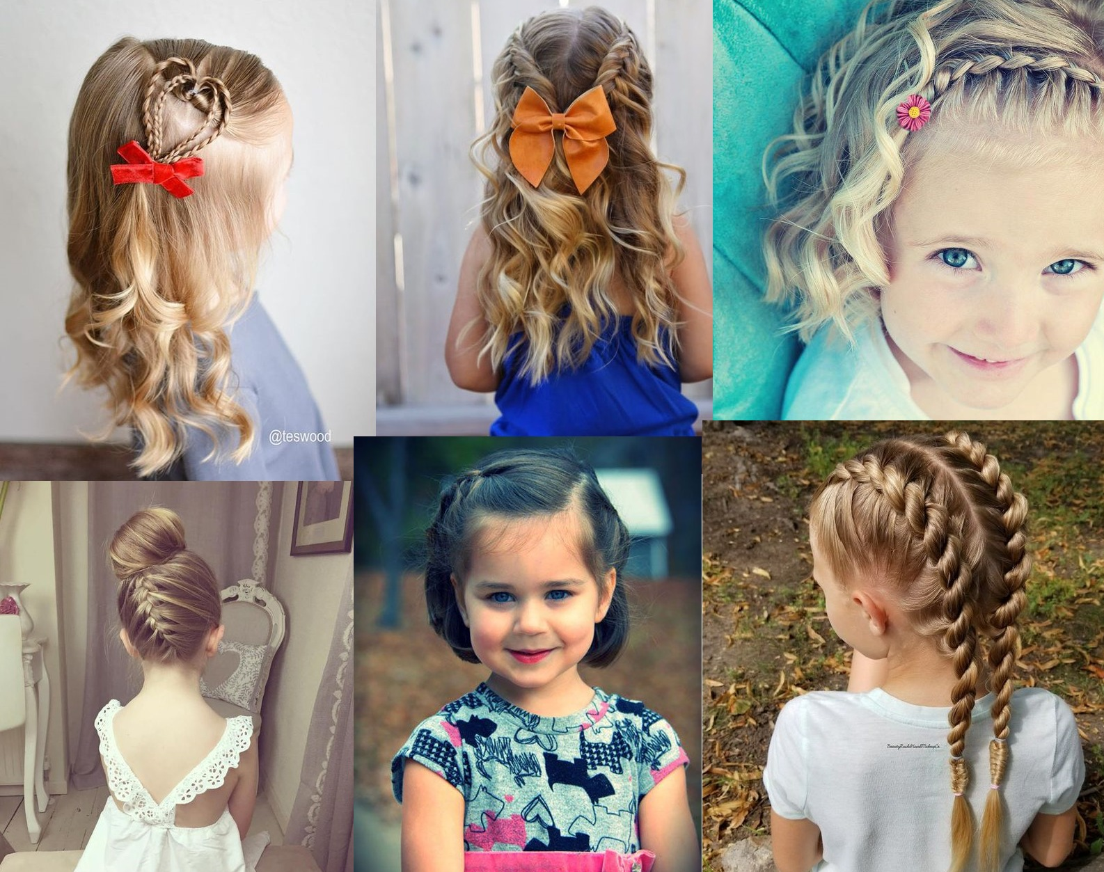 30 Cute Braided Hairstyles For Little Girls Girls - Hairstyles For Girls