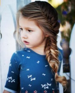 Long Fishtail Braid