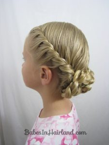 Rope Braid and Braided Chignon
