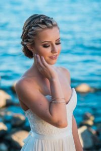Braided Crown and Low Chignon