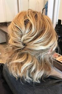 Loosely Braided Up-Do