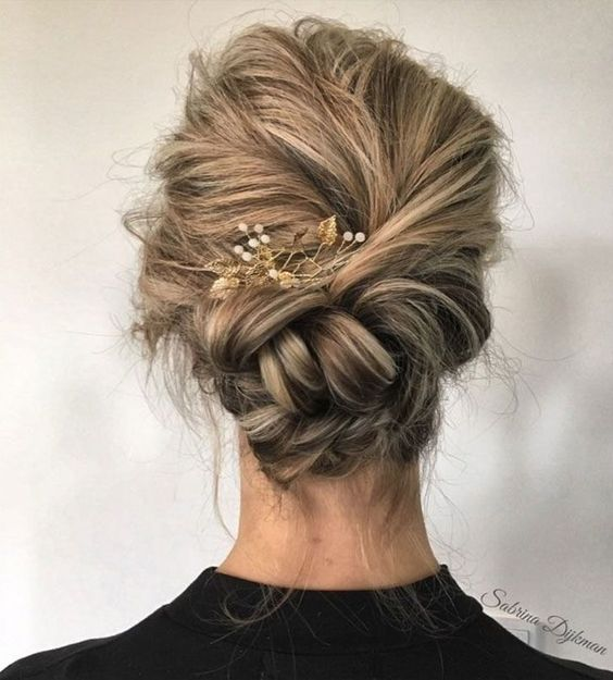 17 Gorgeous Wedding Updos For Brides In 2019: 35 Braided Wedding Hairstyles