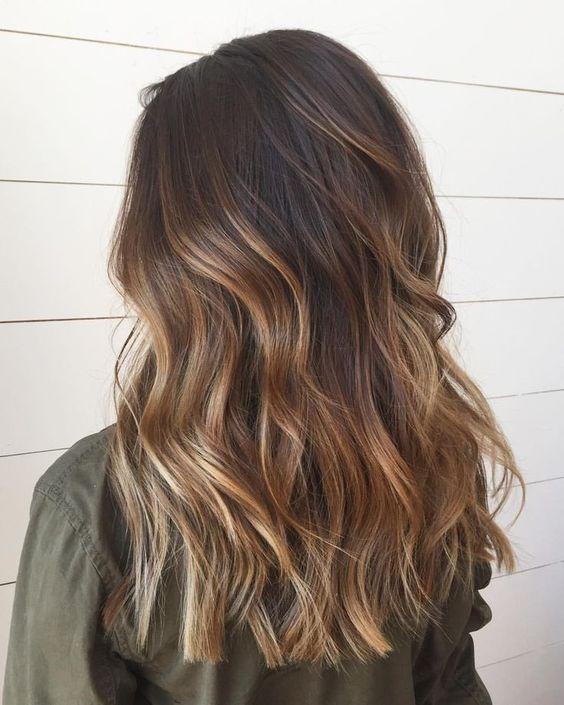Brown Balayage Hair color ideas