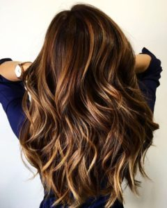 Caramel and Toffee Balayage
