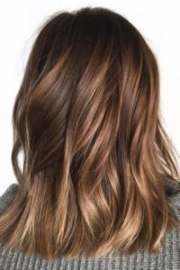 Golden Brown Balayage