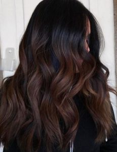 Chocolate Cake Balayage
