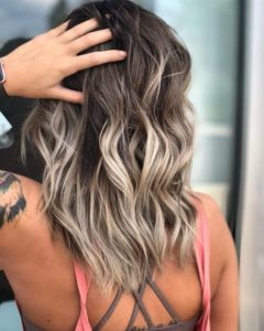 Toasted Coconut Balayage