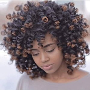 Featured - Chocolate ombre perm rod set