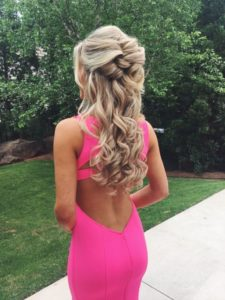 Loose Braid and Curls