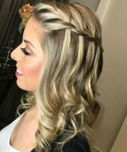 Minimal Waterfall Braid
