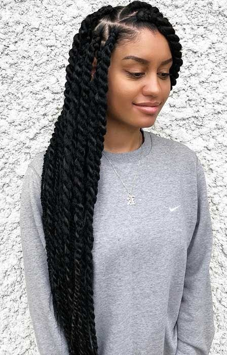 Marley Twist Hairstyles And Looks
