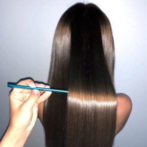 DIY Keratin Treatment at home