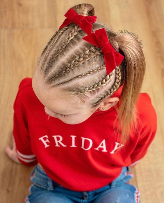 Cute Picture Day Hairstyles For Elementary School