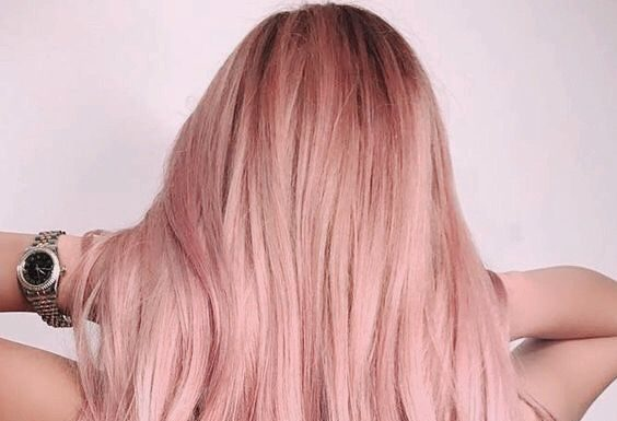 Rose Pink Hair Color