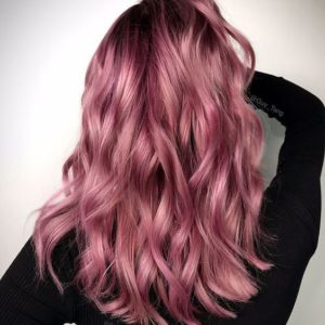 Dark Rose Pink