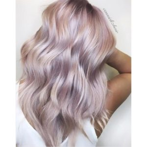 Iridescent Metallic Rose Pink