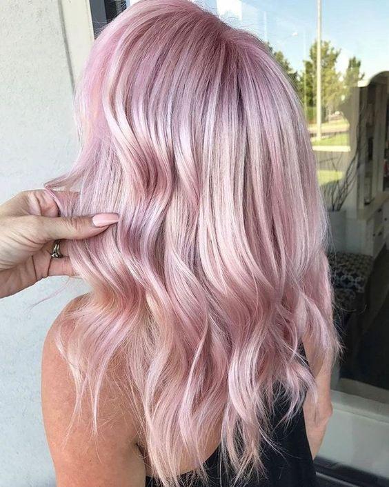 30 Best Rose Pink Hair Looks