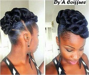 Long weave ponytail