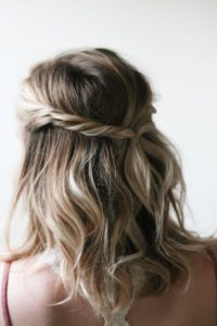 Simple Twisted Updo
