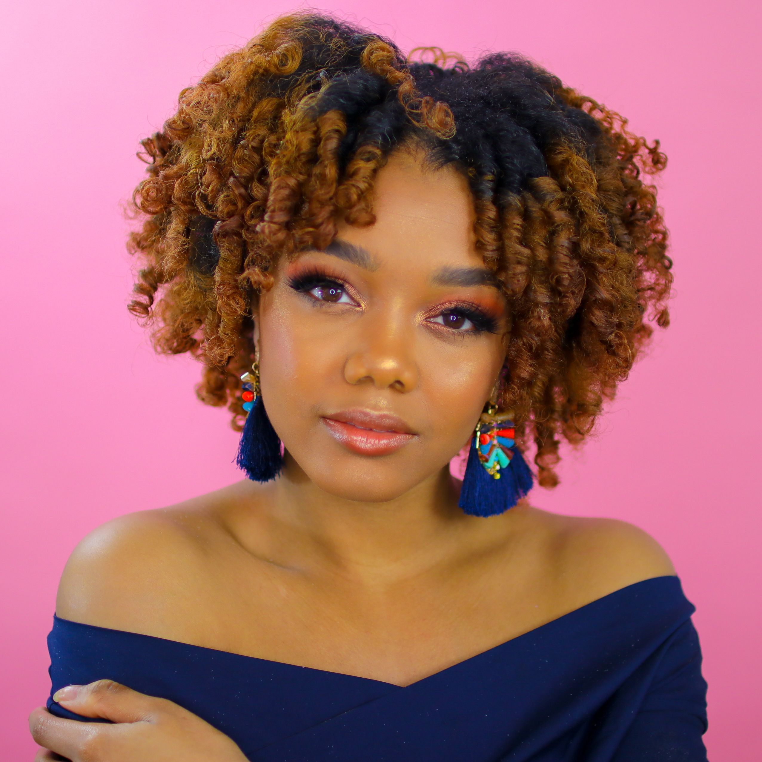 Perm Rods Styles On Natural Hair Relaxed And Synthetic Hair