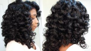 Wet look perm rod set