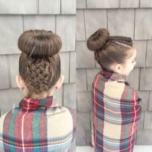 basket braid updo