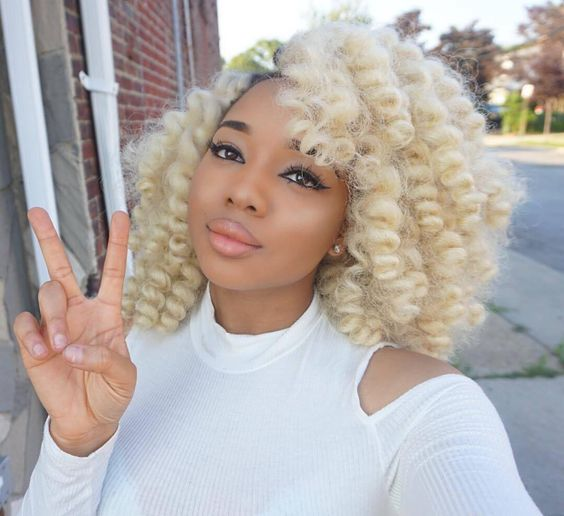 blonde Crochet Braid