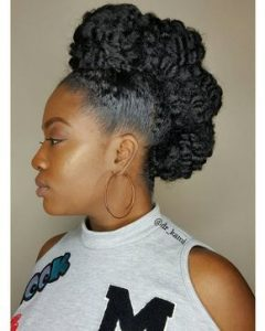 curly natural mohawk