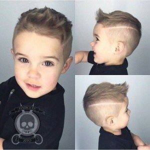 deep side hairstyles for little babies