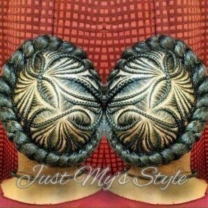 floral iversion braids