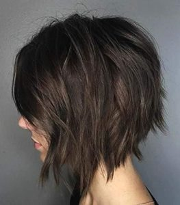 fringe tetured bob