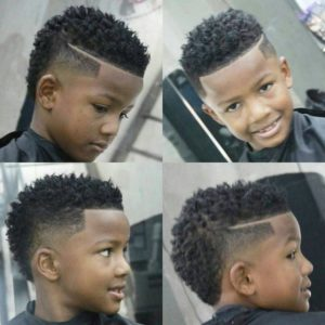 high fade toddler hair